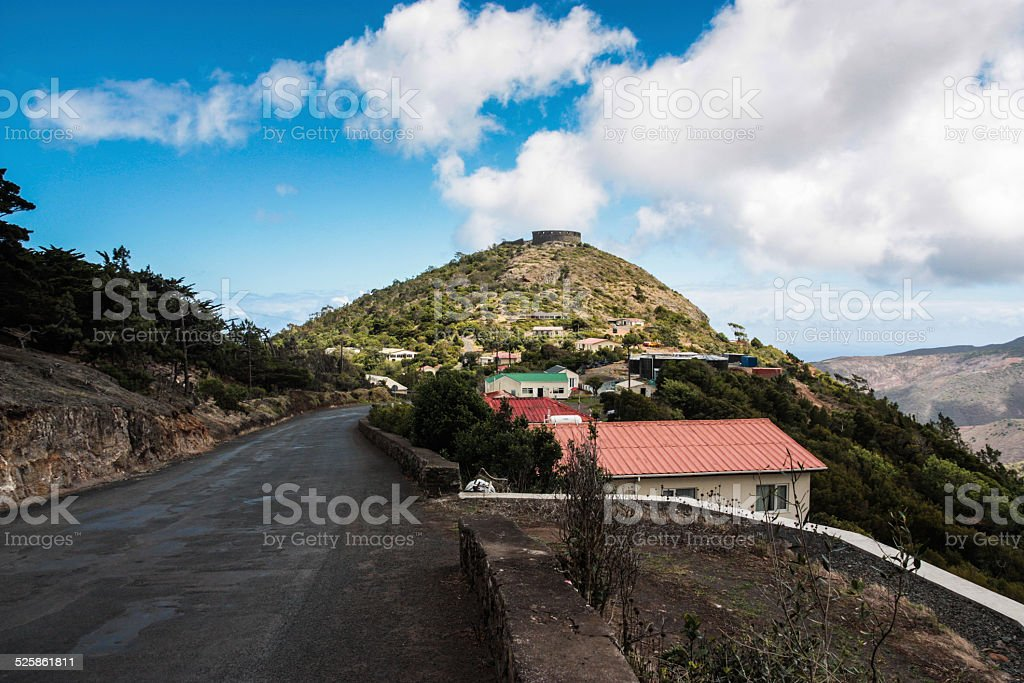 High Fort St Helena stock photo