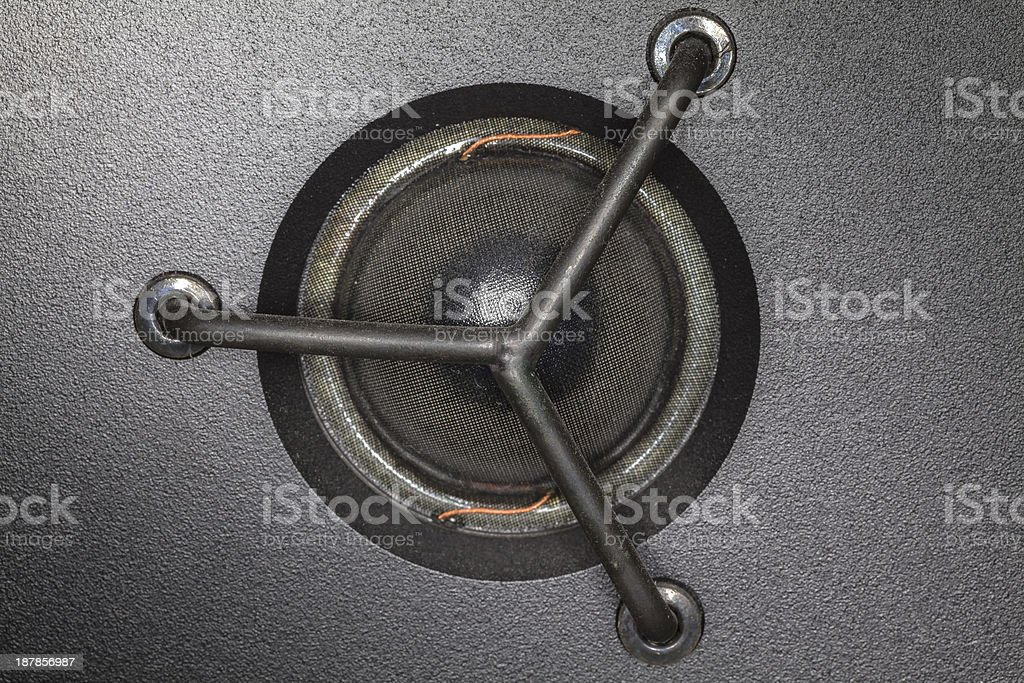 High frequency speaker stock photo