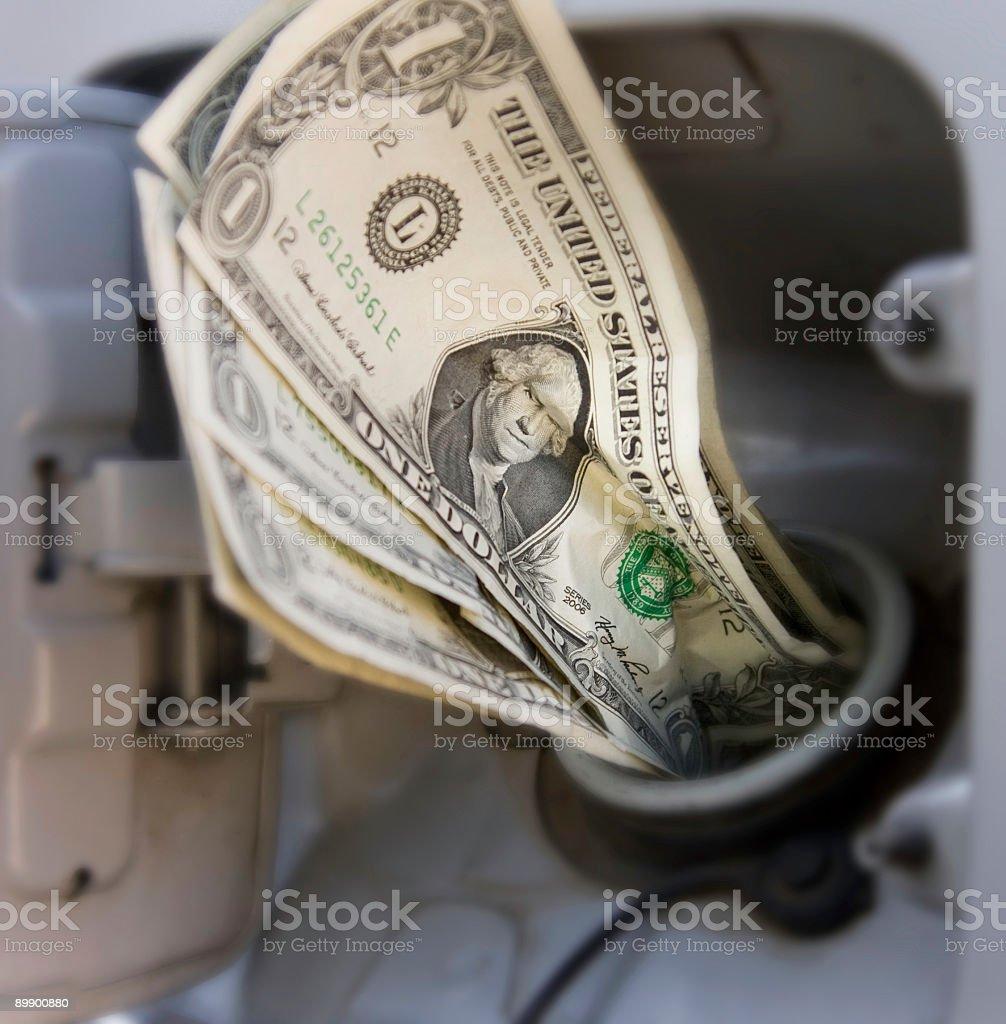 Hohe Treibstoff Preise Lizenzfreies stock-foto