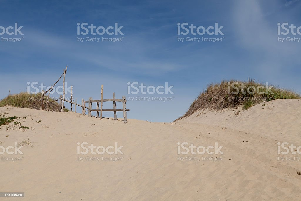 High Head Sand Dunes royalty-free stock photo