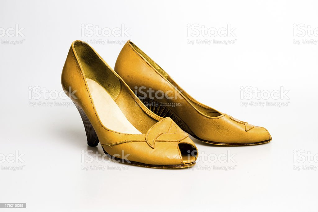 High heel shoes royalty-free stock photo