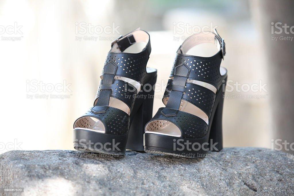 Mujer Zapatos de tacón de - foto de stock