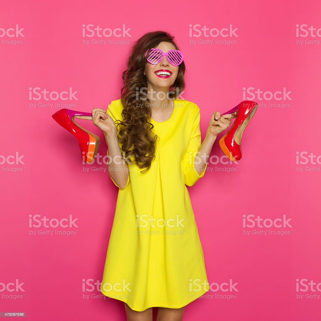 High Heels Is My Middle Name stock photo