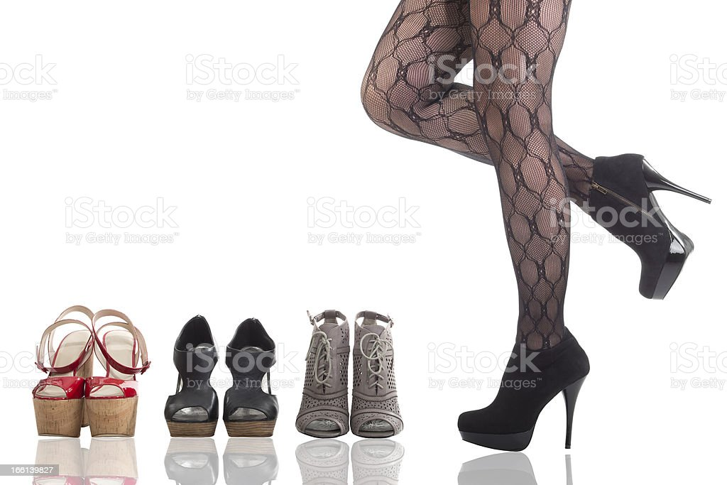 High Heels royalty-free stock photo