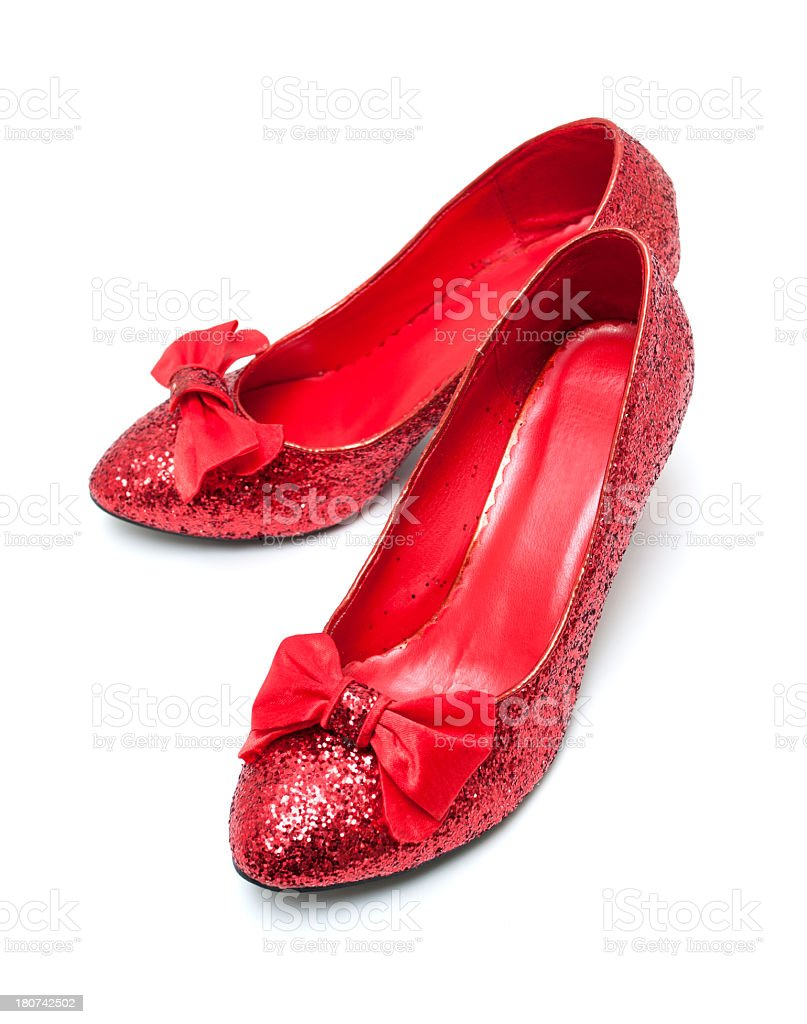 High Heels Shoes isolated on white background stock photo