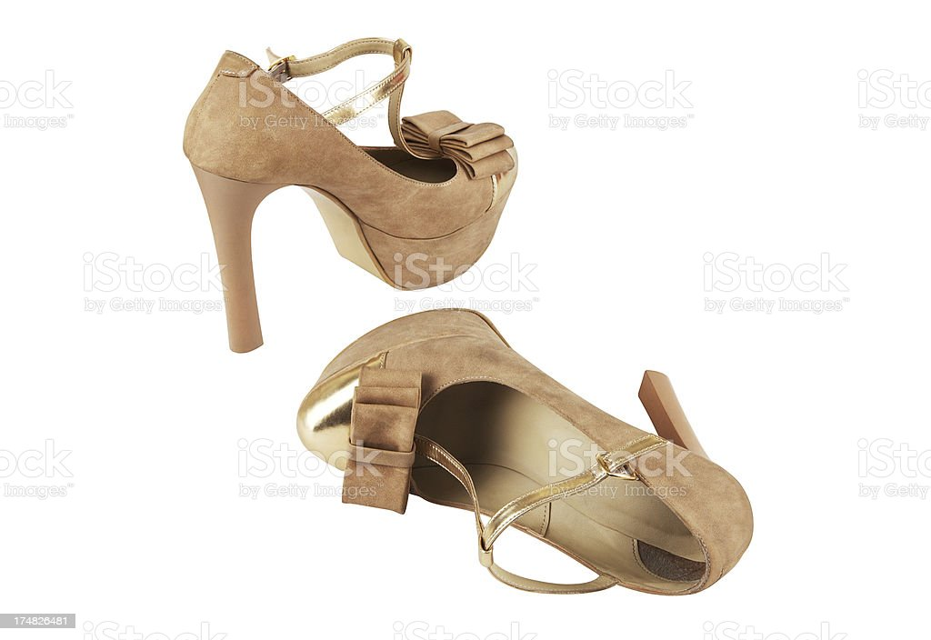 High Heels Shoes (Clipping Path) (Click for more) royalty-free stock photo