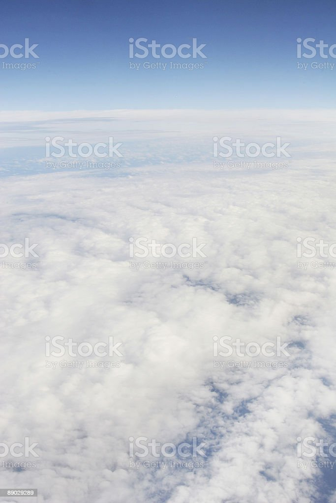 High high above the earth royalty-free stock photo