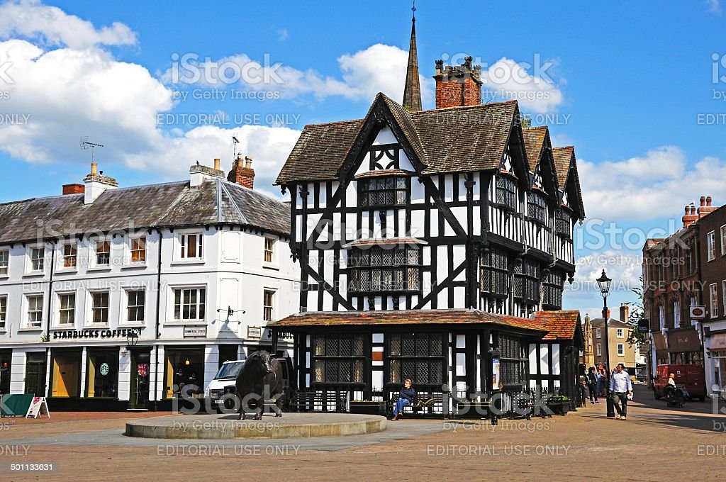 High House, Hereford. stock photo