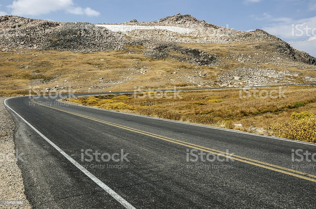 High in the Mountains stock photo