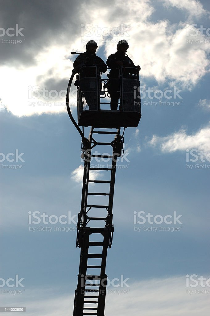 high in the sky royalty-free stock photo