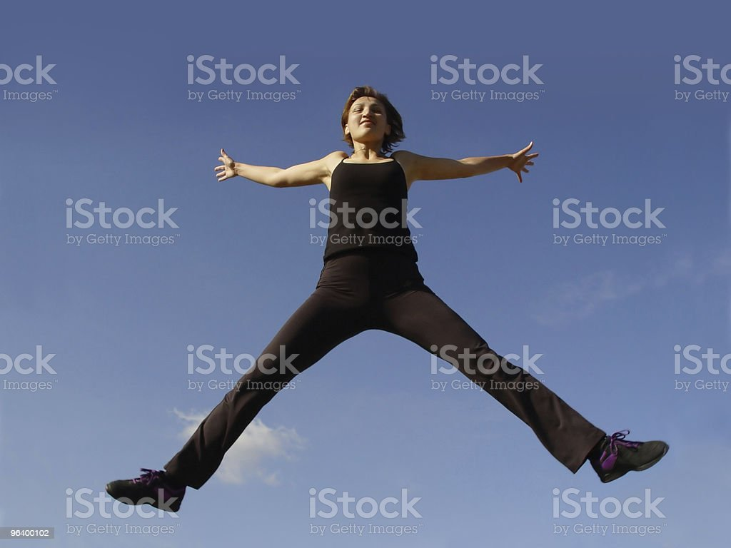 High in the sky - Royalty-free Activity Stock Photo