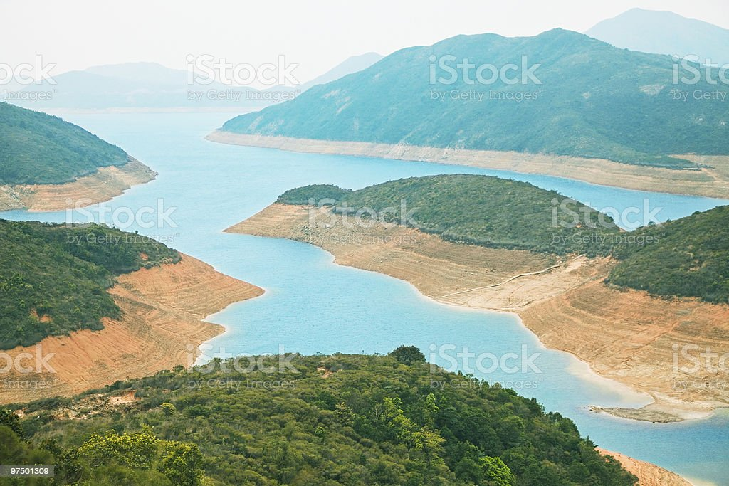 High Island Reservoir royalty-free stock photo