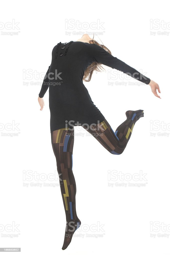 high jumper royalty-free stock photo