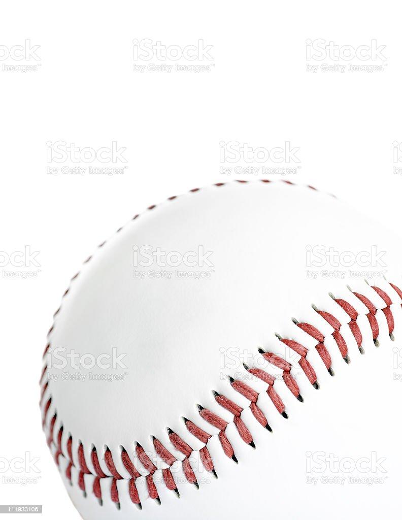 High Key Baseball stock photo