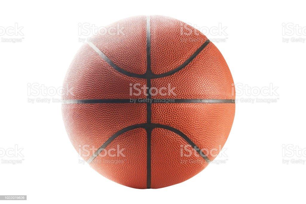 High Key lighting basketball stock photo