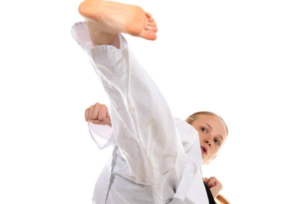 High Level Martial Art Training stock photo