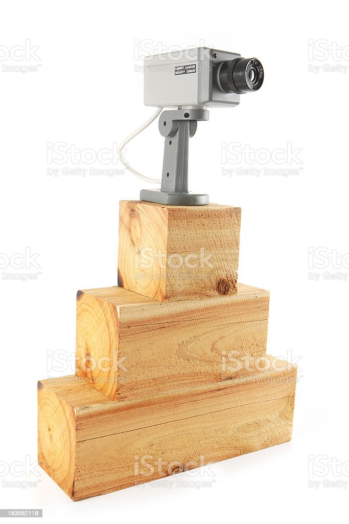 High Level Security stock photo