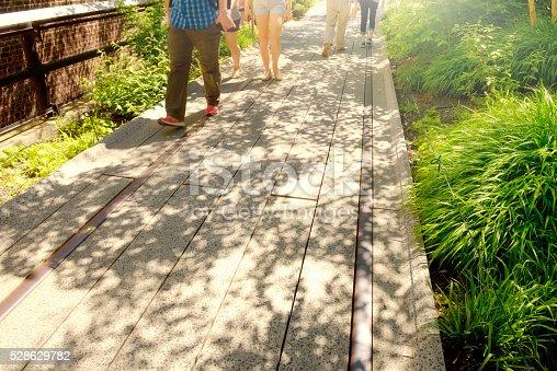 High Line Park,  Chelsea - Manhattan,  NYC