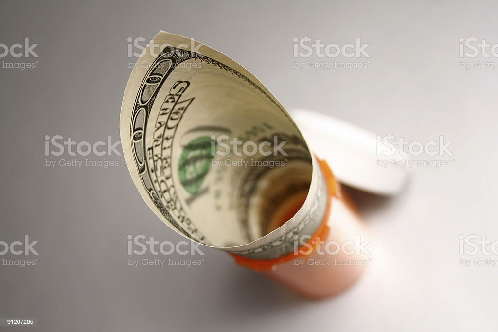 High medical cost stock photo