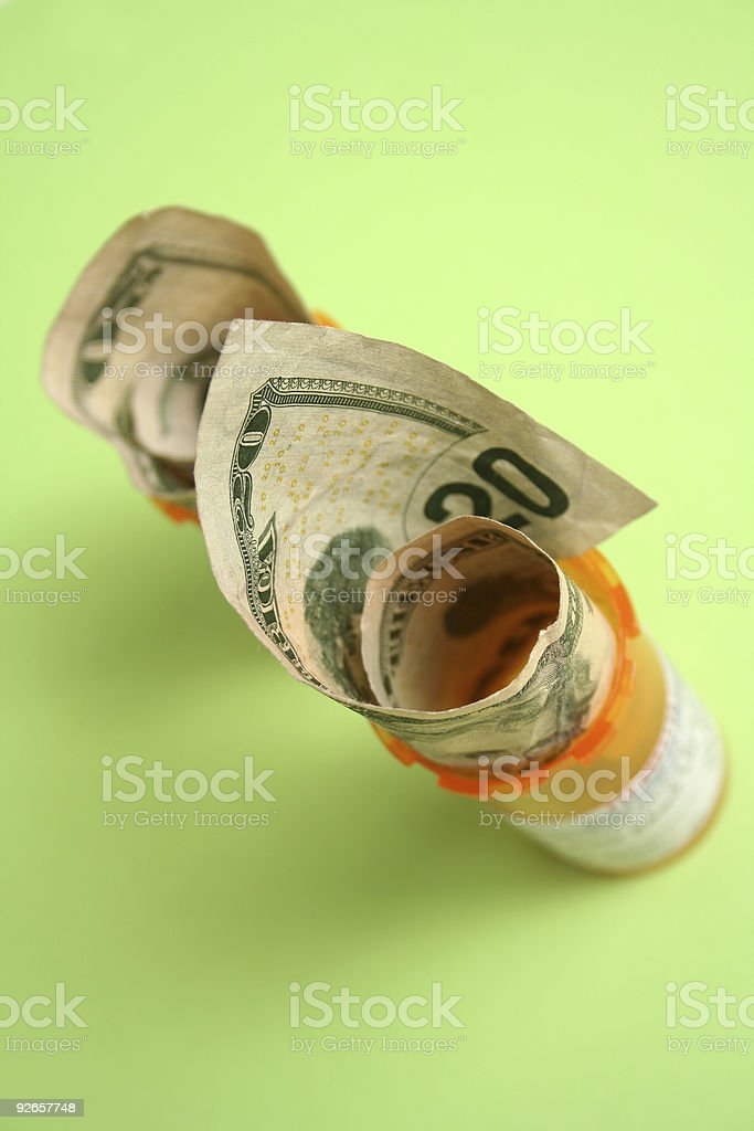 High Medical cost royalty-free stock photo