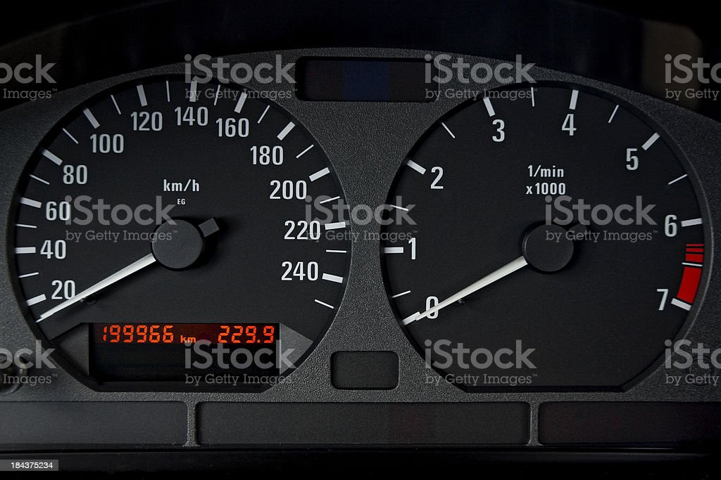 High Mileage royalty-free stock photo