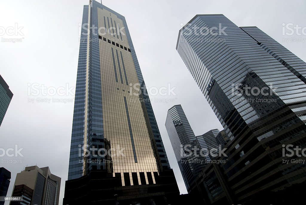 High modern skyscrapers royalty-free stock photo