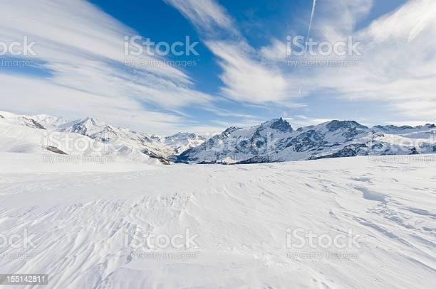 Photo of High Mountain Landscape in Sunny Day