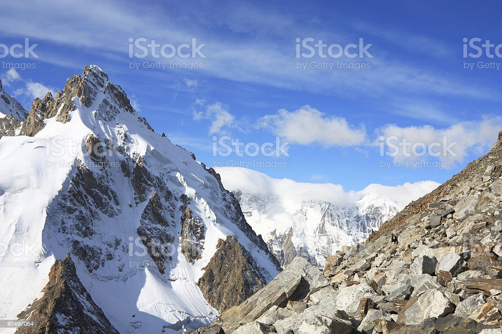 high mountain landscape royalty-free stock photo