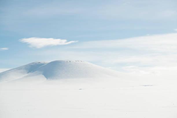 Cтоковое фото Высокий горный пейзаж с солнцем