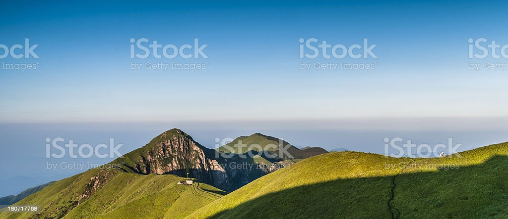 high mountain meadow royalty-free stock photo