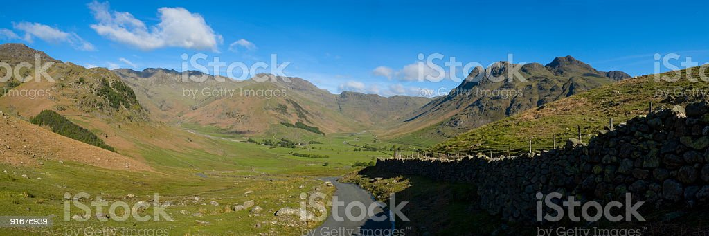 High mountain pass royalty-free stock photo