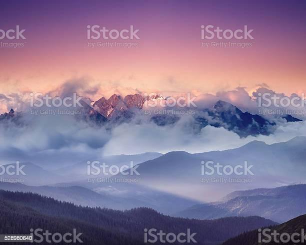 Photo of High mountain ridge