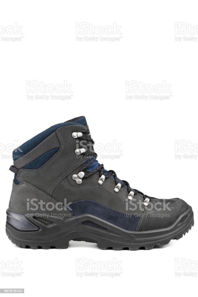 High mountain shoe stock photo