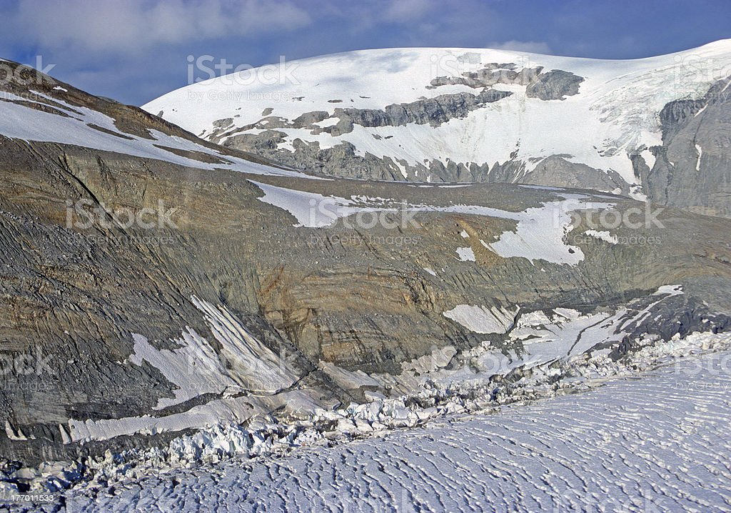 High Mountain view in Alaska royalty-free stock photo