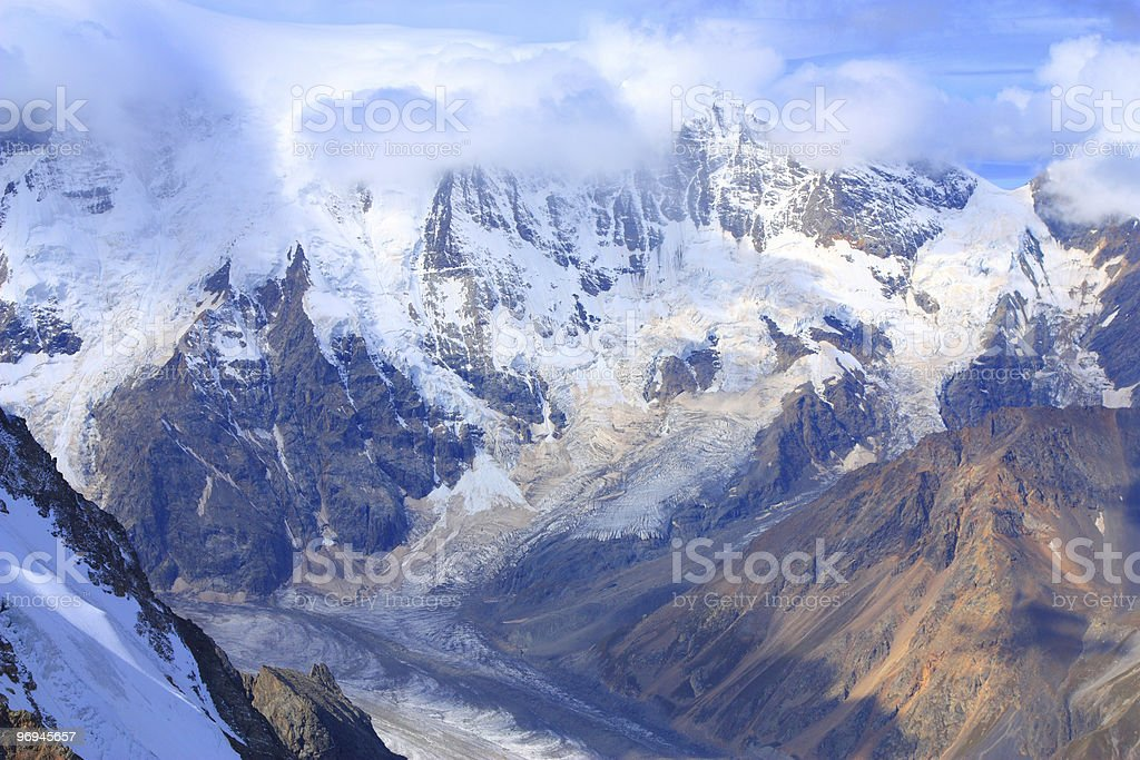 high mountains landscape royalty-free stock photo