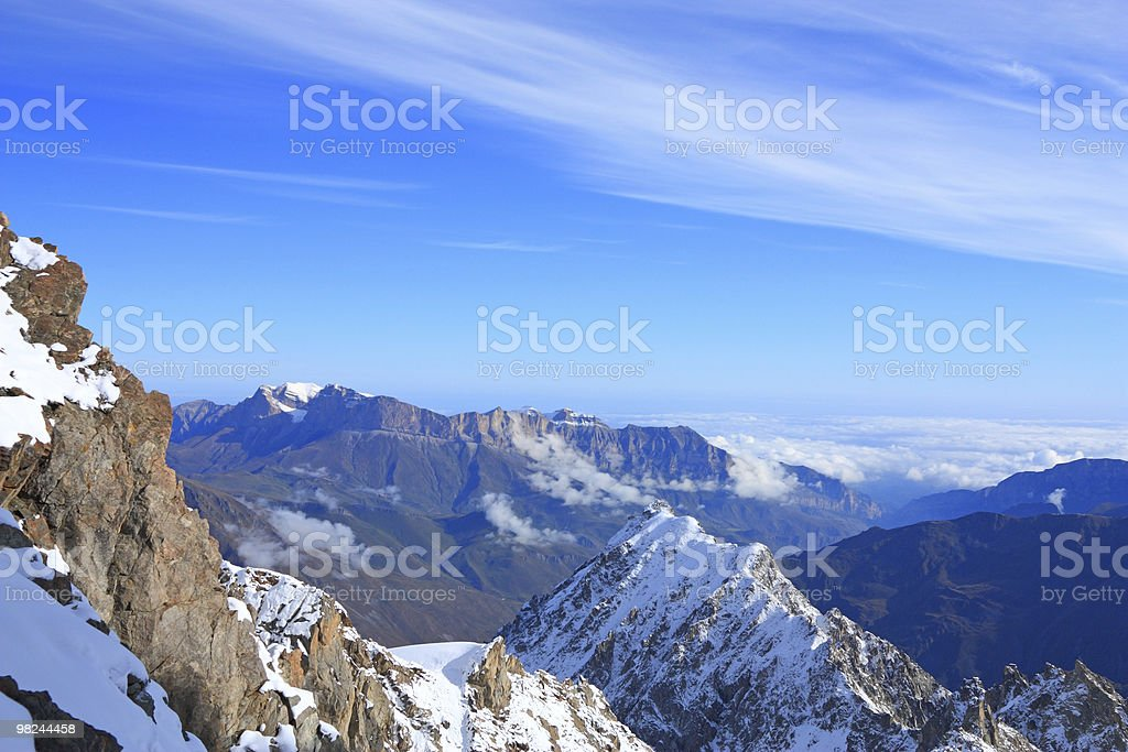 high mountains royalty-free stock photo