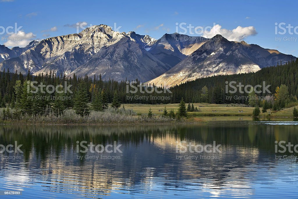 High mountains. royalty-free stock photo