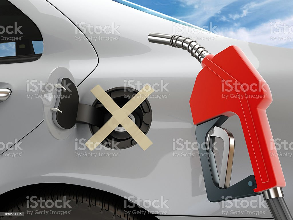 High oil prices stock photo