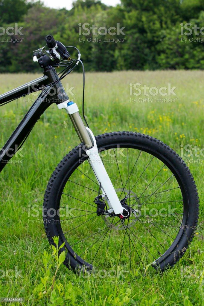 high performance bike stock photo