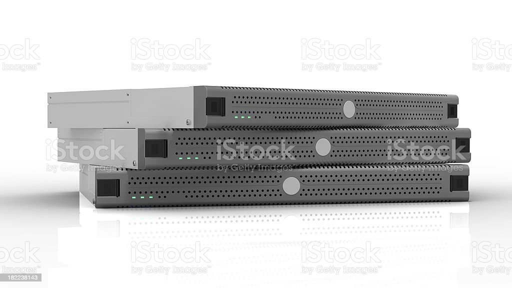 High Performance Server or PC stock photo
