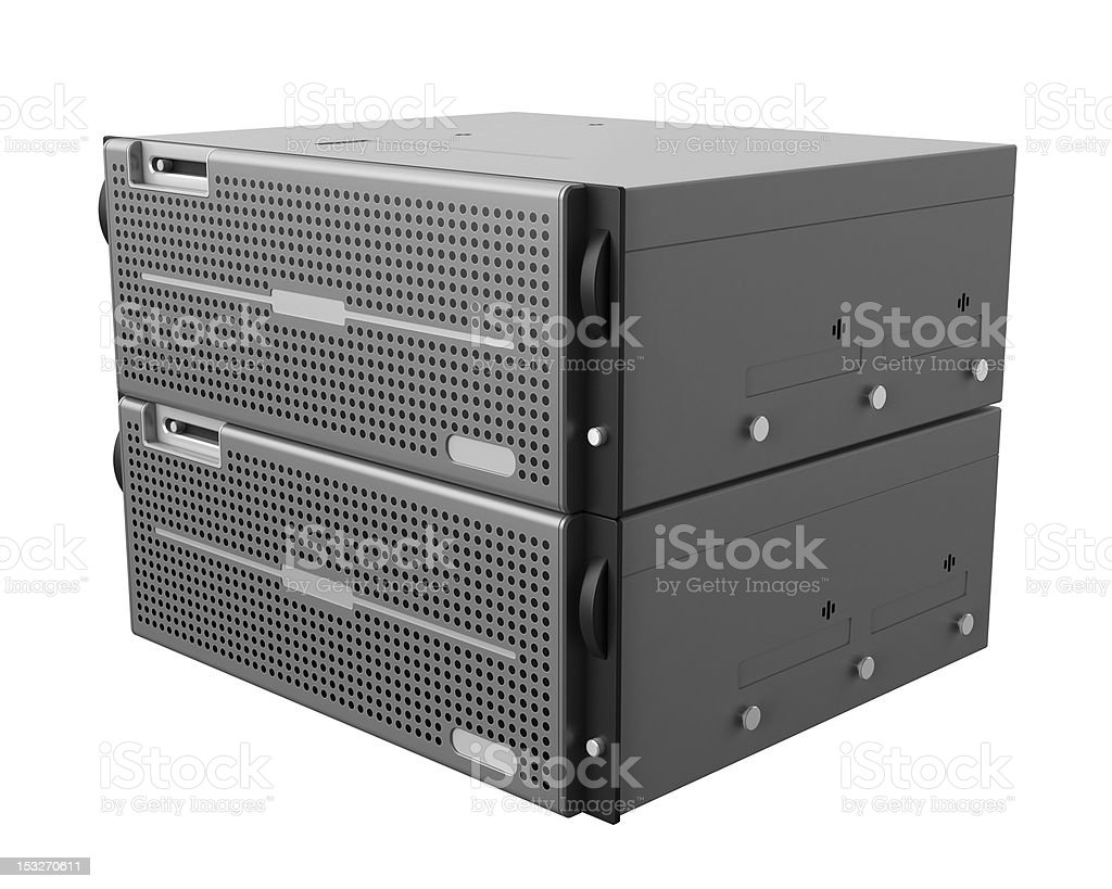 High Performance Server royalty-free stock photo