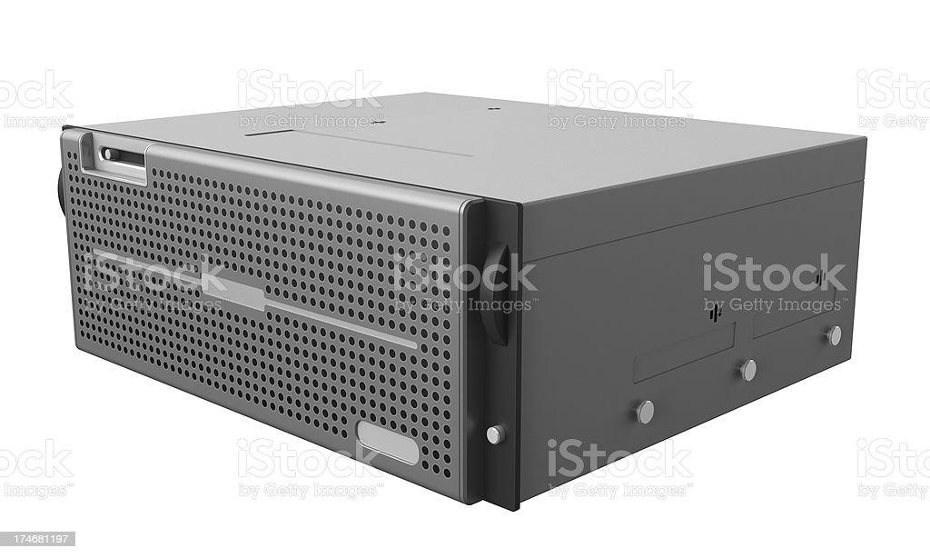 High Performance Server royalty-free stock photo