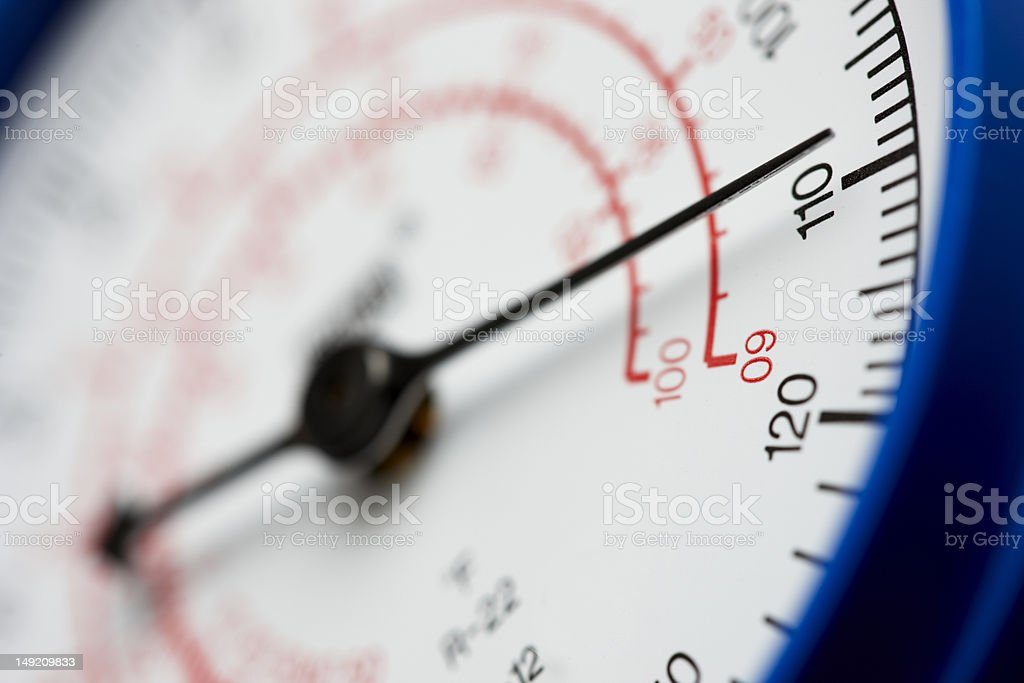 High pressure royalty-free stock photo