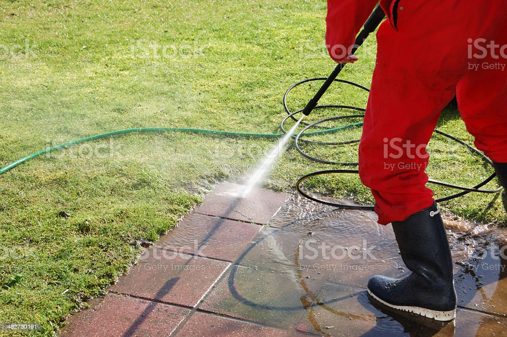 Image result for pavement pressure washing istock