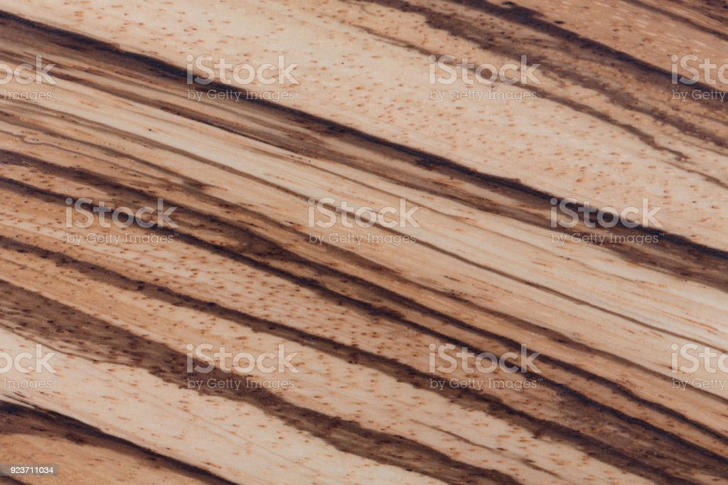 High Quality African Zebrano Wood Texture Stock Photo Istock