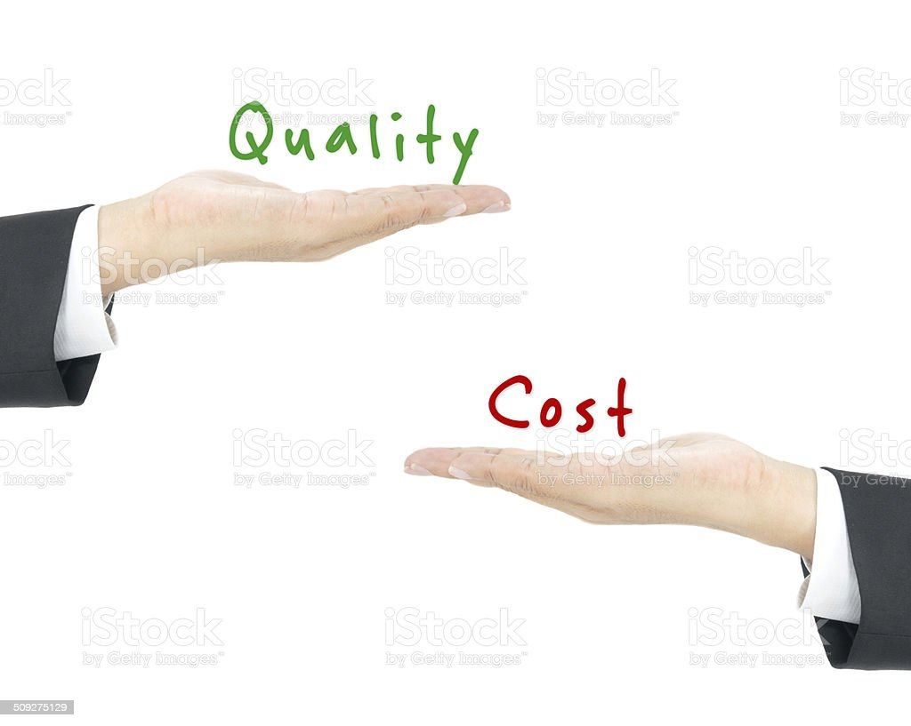 high quality and low cost stock photo
