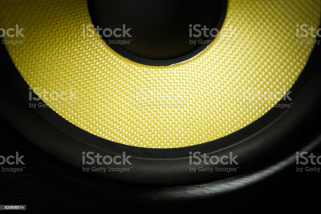 High quality audio monitor for dj stock photo