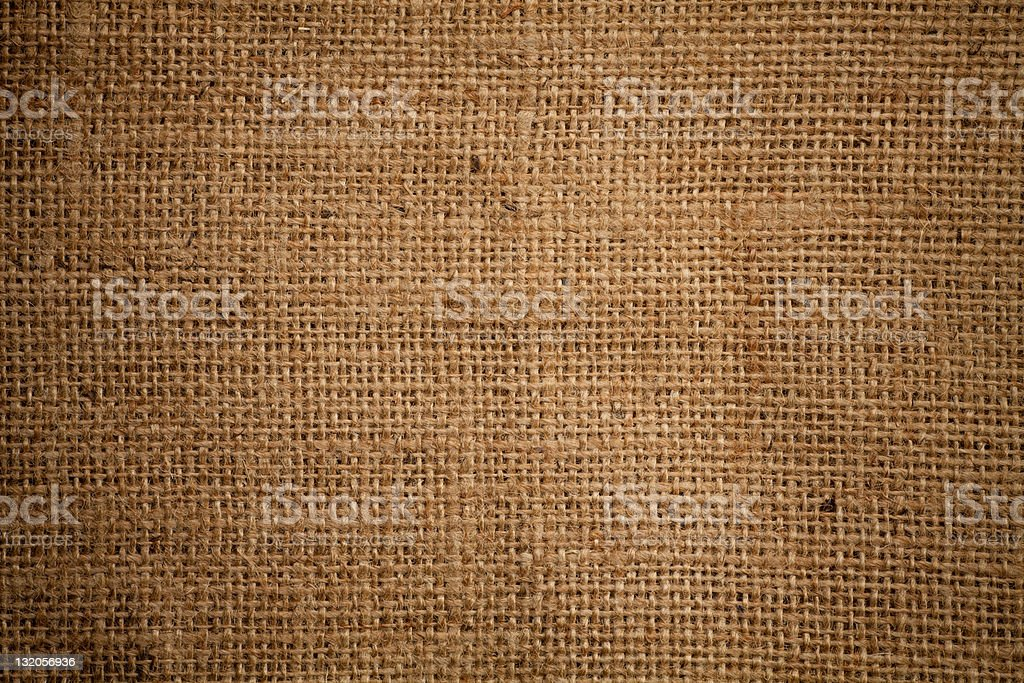 High quality burlap or sacking texture royalty-free stock photo