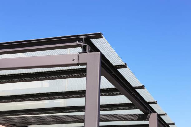 Hochwertiges Vordach bzw. Carport – Foto