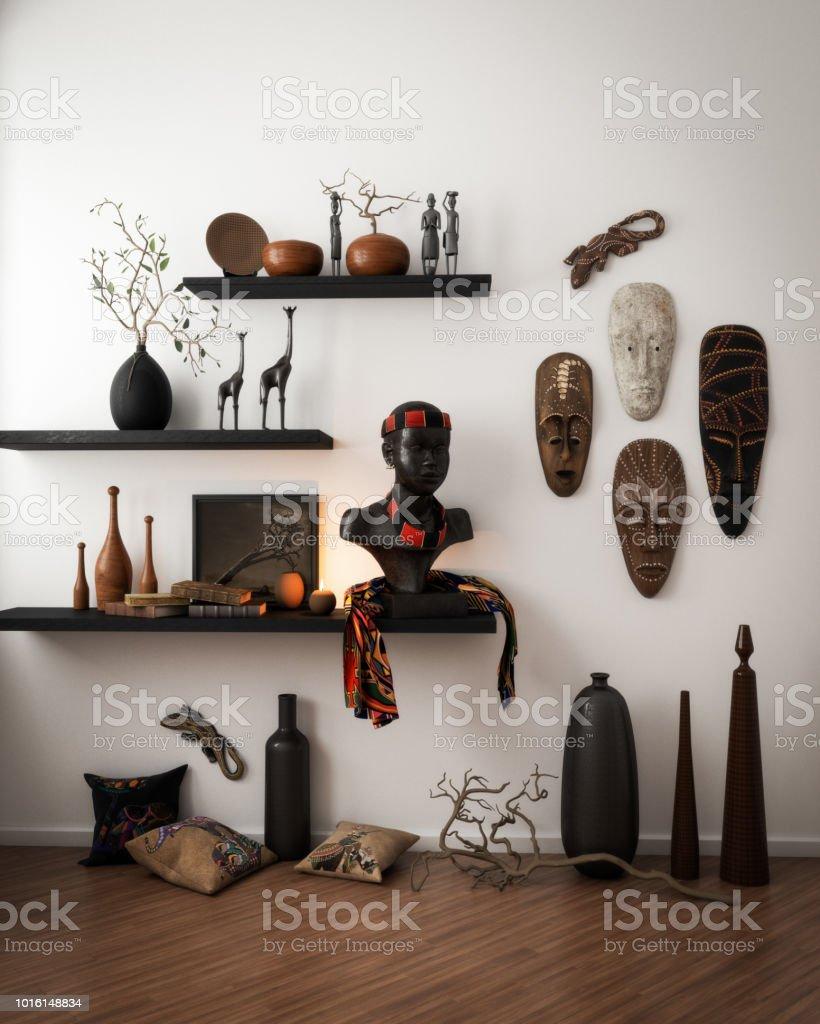 Arte Africano Decorativa De Alta Calidad Foto De Stock Y Más Banco